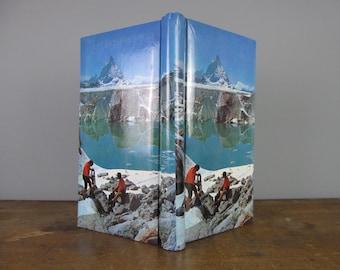 Vintage Photo Album, vintage souvenir, holidays, alpine, mountains, hiking