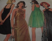 Vintage 1960's McCall's 8996 Dress Sewing Pattern, Size 16 Bust 36