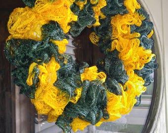 Sashay Yarn Wreath