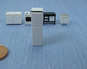 1/144th inch scale  Micro scale Kitchen furniture refrigerator