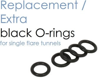 O-Rings | Black | One Pair