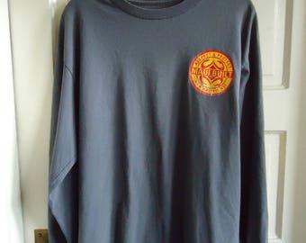 Vintage 90s MAUI BUILT Long Sleeved T Shirt sz M/L