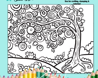 americana folk art coloring pages - photo#20
