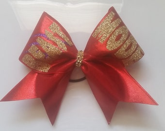 Beast Mode Cheer Bow with Claws
