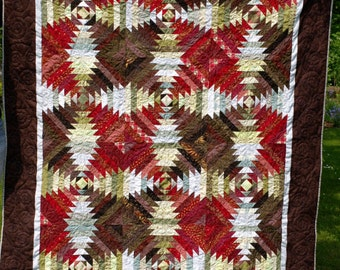 Pineapple Panaché Quilt - Large Throw