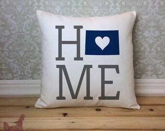 Colorado Pillow, Colorado State Pillow, Colorado Home Pillow, Housewarming Gift, Square Pillow, Colorado Home decor, Colorado Gift Idea