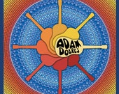 CD- Adam Dobres- Instrumental Guitar Music- Artwork by Elspeth McLean