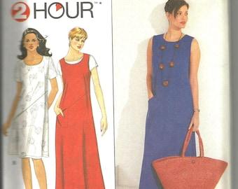 Simplicity 8765 uncut size large and X large womans 2 hour dress