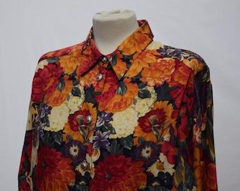 Women's Sun Burst 1980s Long Sleeved Shirt (DOWN FROM 24.99)