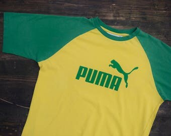 Yellow Puma T-shirt