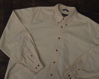 Nautica Cream Button Down Shirt