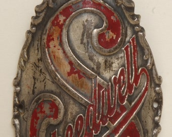 Vintage Speedwell Bicycle Head Badge