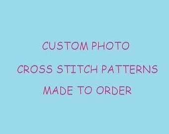 Custom Photo Cross Stitch Patterns