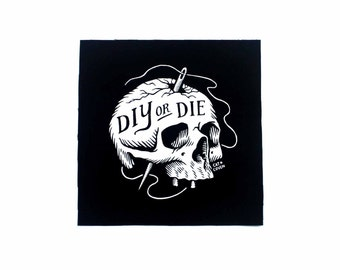 DIY or Die - Small Patch