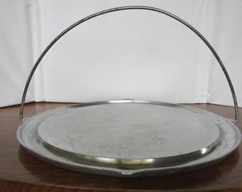 Mid Century Super Maid Cookware Griddle with Bail Handle