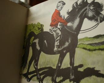 Vintage Horse book lot including LIttle Black, A pony