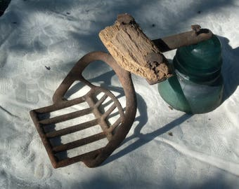 Old Farm Tools,Vintage Stagecoach Step  /  Horse and Buggy Step,, Old  Farm Steps. Farm Decor . Cottage Chick.