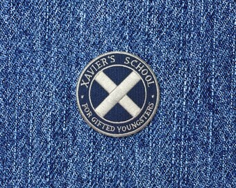 SUPER SALE 50% off!  Xavier's School inspired iron-on fan patch