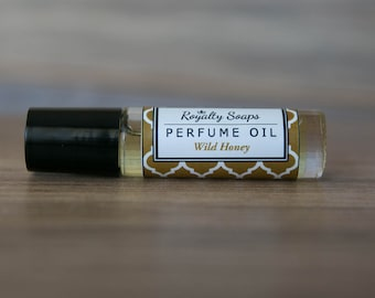 Wild Honey Perfume Oil | Roll On Perfume | Royalty Soaps