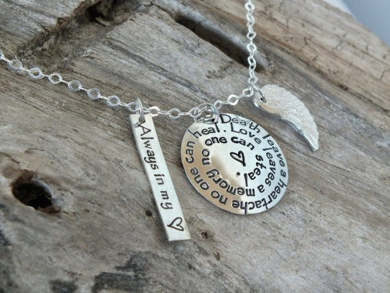Sympathy Gift, SYMPATHY JEWELRY, Bereavement Gift, Sympathy Necklace, In memory of, CONDOLENCE Gift Loving Memory, Remembrance Gift,