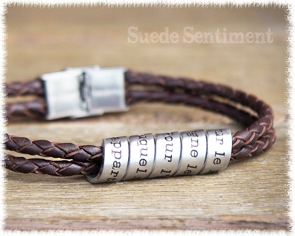 Mens Personalized Bracelet Gifts For Men Mens By