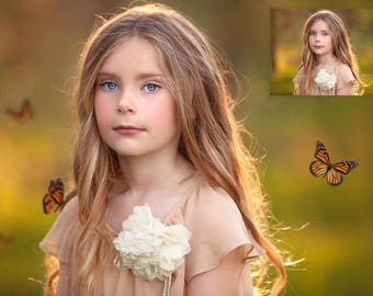 Butterfly Whispers – Photoshop Overlay and Photoshop Action Collection for PS & PSE - Butterfly Overlays - Spring Overlays - Insect Overlays