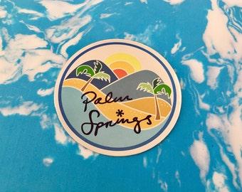Palm Springs Sticker
