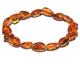 Genuine handmade Amber bracelet for woman - Everyday Bracelet - Casual Amber Bracelet - 3 sizes to choose