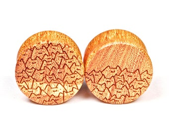Handmade Catpile Osage Orange plugs