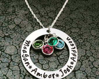 Mother's Jewelry Mother's Day Gift Personalized Necklace for Mom Perfect for Christmas Gift Birthday Gift