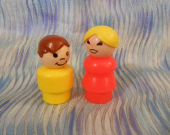 Fisher Price Little People Mother/Son