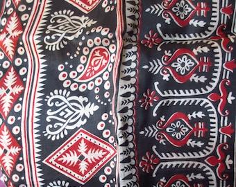 Vintage Silk Sari Fabric 5+ Yards