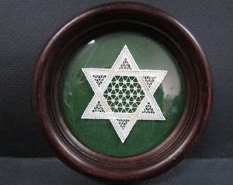 Star of David embroidery
