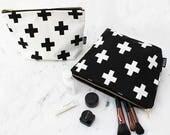 Swiss Cross Toiletry Bag - Cosmetics Bag - Travel Bag -