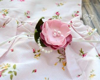 Rose Bud Headband (M2M my Rose Bud Romper)