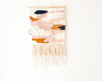 Woven wall hanging - Woven wall art tapestry - Wall tapestry weaving - Wall weaving - Woven wall decor - Wall hanging woven