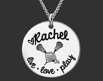 Lacrosse Necklace | Lacrosse Jewelry | Daughter Gift | Teen Gifts | Granddaughter Gifts |  Necklace Korena Loves