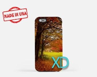 Autumn iPhone Case, Tree iPhone Case, Fall iPhone 8 Case, Foliage, Leaves, iPhone 6s Case, iPhone 7 Case, Phone Case, iPhone X Case, SE Case