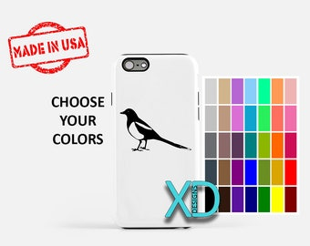 Simple Bird iPhone Case, Oriole iPhone Case, Bird iPhone 8 Case, iPhone 6s Case, iPhone 7 Case, Phone Case, iPhone X Case, SE Case