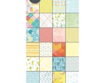 Sizzix - Paper - Cardstock Pad - Geometrics - 48 Sheets - 6in x 12in