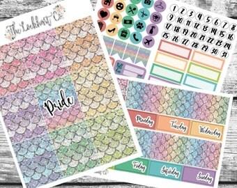 PRIDE LGBTQ Weekly Sticker Kit