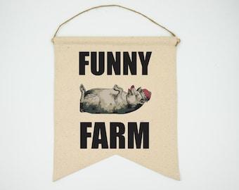 Funny Farm - Banner