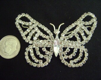Rhinestone's Butterfly Embellishment