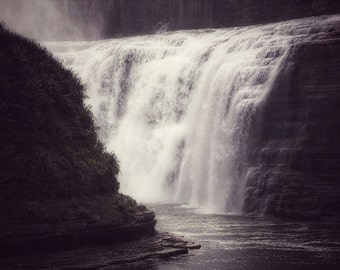Waterfall Print, Nature Photography, Waterfall Photo, Nature Prints, Waterfall Photography, Nature Art, Water Photography, Aquatic Photo