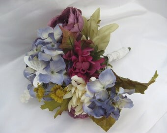 Artificial Floral Arrangement Bouquet (Muted Colors)