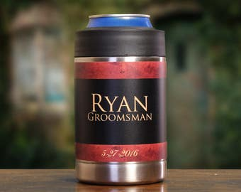7, Best Man Gift, Personalized Beverage Coolers