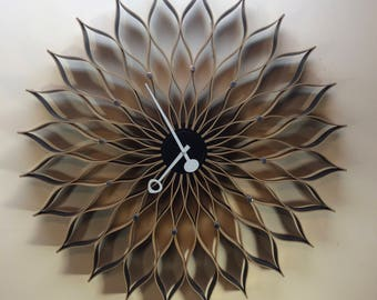 George Nelson Vitra Sunflower Clock MCM