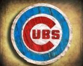 """18"""" Cubs sign"""