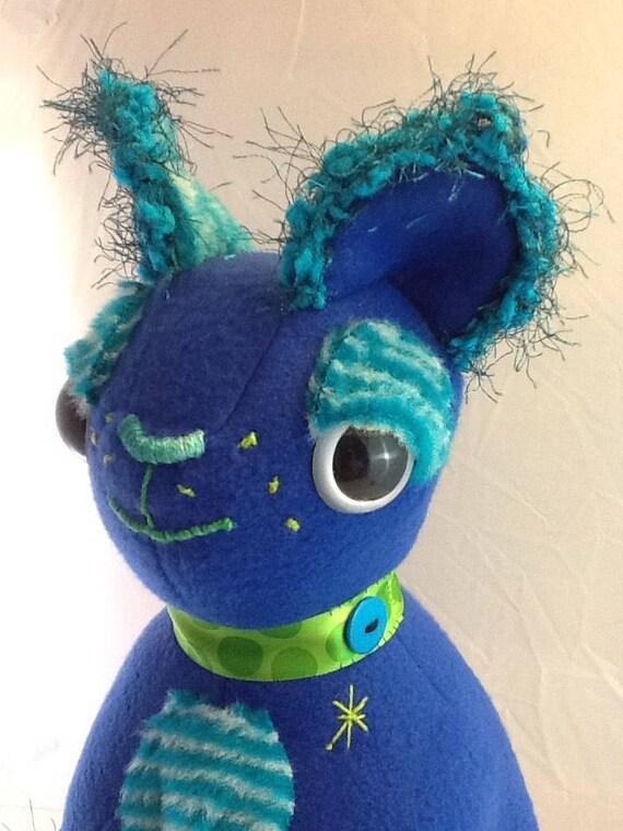 Mysterious Cobalt Kitty