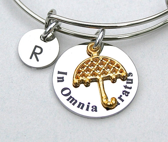 In Omnia Paratus Charm Bangle | Gilmore Girls Gift Guide